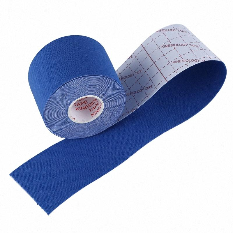 1 Roll Sports Kinesiology Muscles Care Fitness Athletic Health Tape 5M * 5CM XuLF#