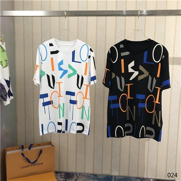 2020SS Francês 1854 Flower Paris Taille X Impresso estilista camiseta Moda T do verão camiseta T Casual Men Rua manga curta