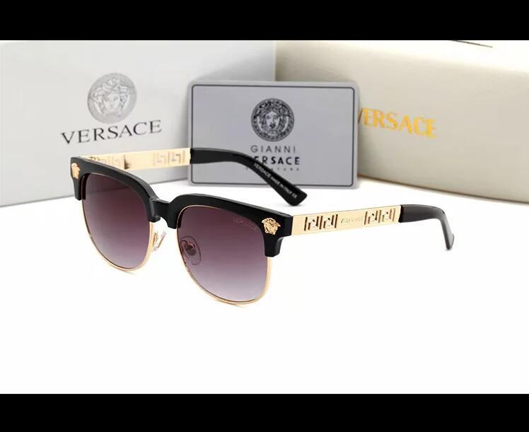 2020 Luxury Desinger Occhiali da sole quadrati con Stamp UV400 Full frame occhiali da sole per Accessori di moda delle donne degli uomini di alta qualità 0621