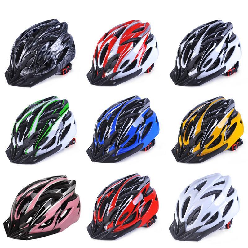 Unisex Cycle Helmets Protector Bike Bicycle Helmet Adjustable Multi Color Helmet