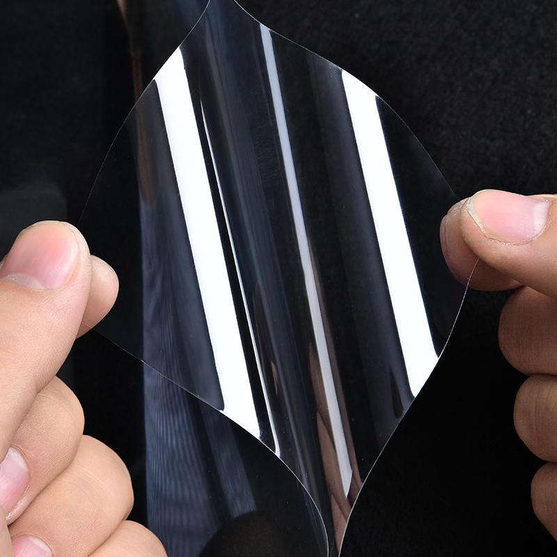 5M etiqueta de la pared transparente resistente al calor auto adhesivo del papel pintado de la cocina a prueba de aceite impermeable anti-aceite de cinta adhesiva