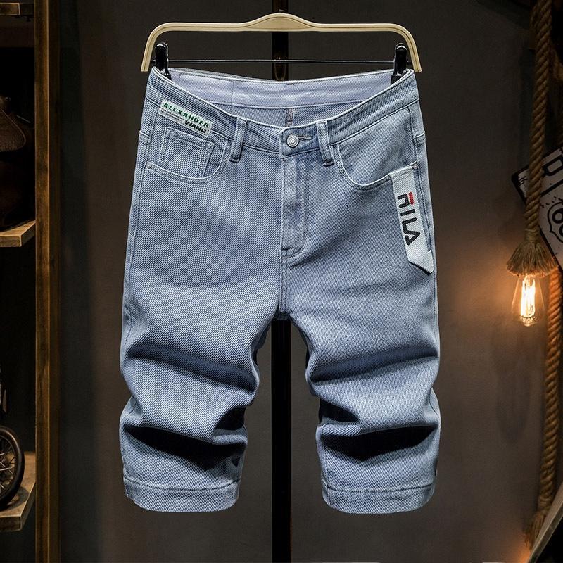 gc2SS 2020 nuovi allentati coreani jeansjeans Caviglia-lunghezza luce blu estivi uomo e jeansstyle pantaloni corti di strada dei giovani alla moda dei jeans MIDD