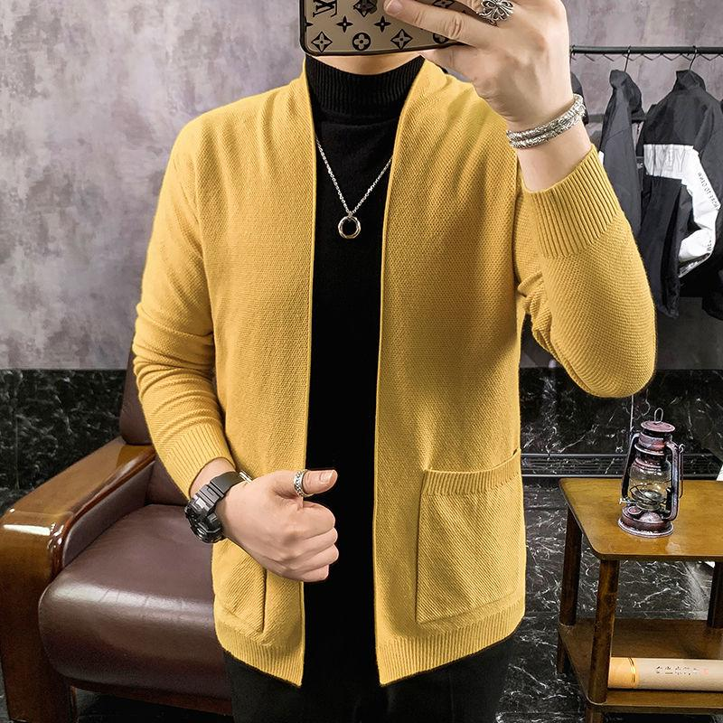 2020 2020 Winter Mens New Knitwear Long Cashmere Cardigans Male Wool Sweaters Coats Clothes Slim Fit Woollen Sweater M 3XL From Shipsoon, $31.87 |