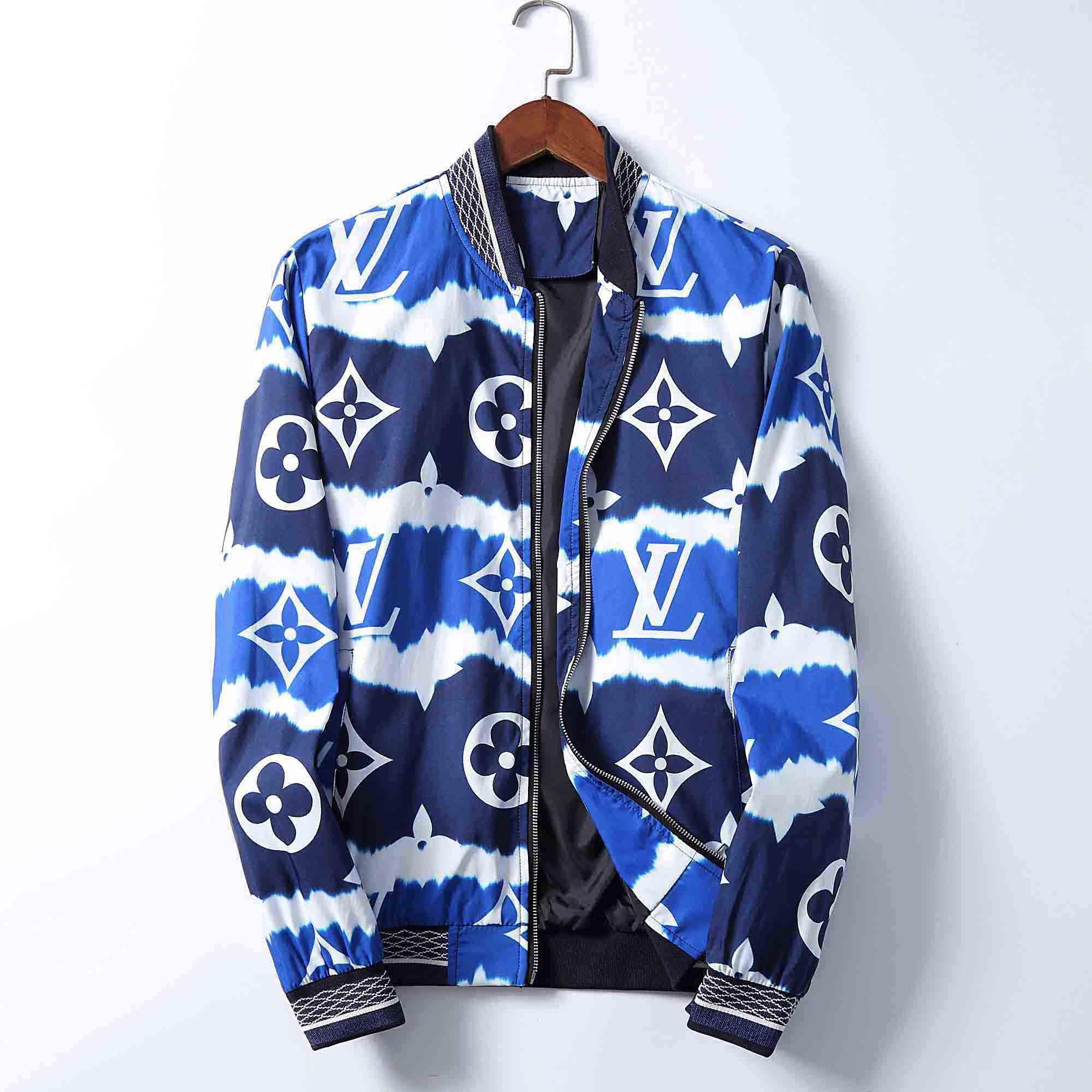 Herbst 2020 neue Herrenjacke Medusa Jacke Mode Persönlichkeit Druck losen Sportswear Designer-Jacke dünne Schicht