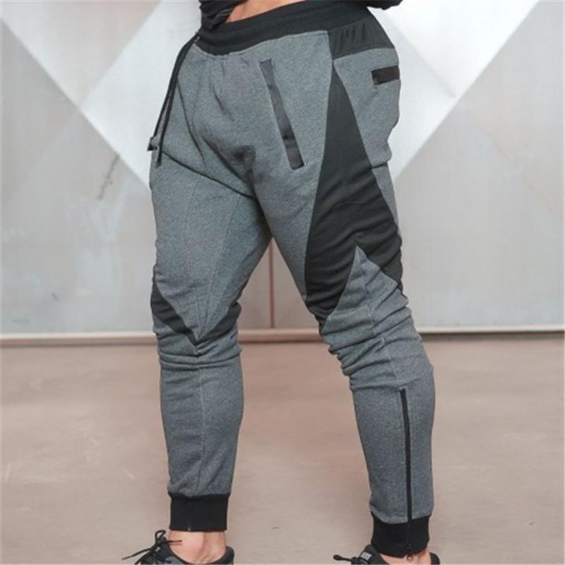 Spor HSJ88 Koşu Fitness Erkekler pantolon Pantolon Nefes Esnekliği Casual