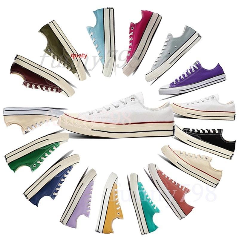 Повседневная обувь 10s Высокого качество Brand New 20 цветов Всех Размер 35-44 High Лучших спортивных звезд низкого Топ Классического Canvas Shoe кроссовки Мужского Женской