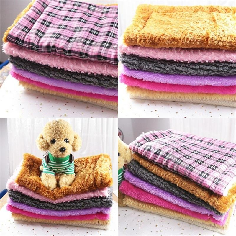 Thickenings Mat Washable Nest Cat Teddy Puppy Cushion Colorful Kennels Pet House Comfortable Pets Supplies Free Shipping 9 5gg E2