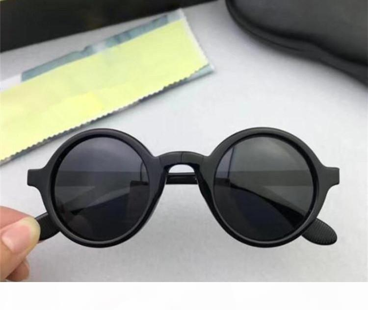 Depp Stern-Retro-Stil Leinen runden fashional Größen Sonnenbrille MS unisex polarisierte Sonnegläser rein Planke fullset Fall