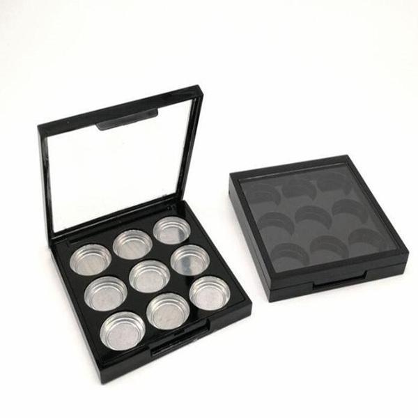 Глазные коробки тени Сковороды Пустой глаз Тени для век Palette Фирма косметичку Автомата Eyeshadow поддон быстрая доставка