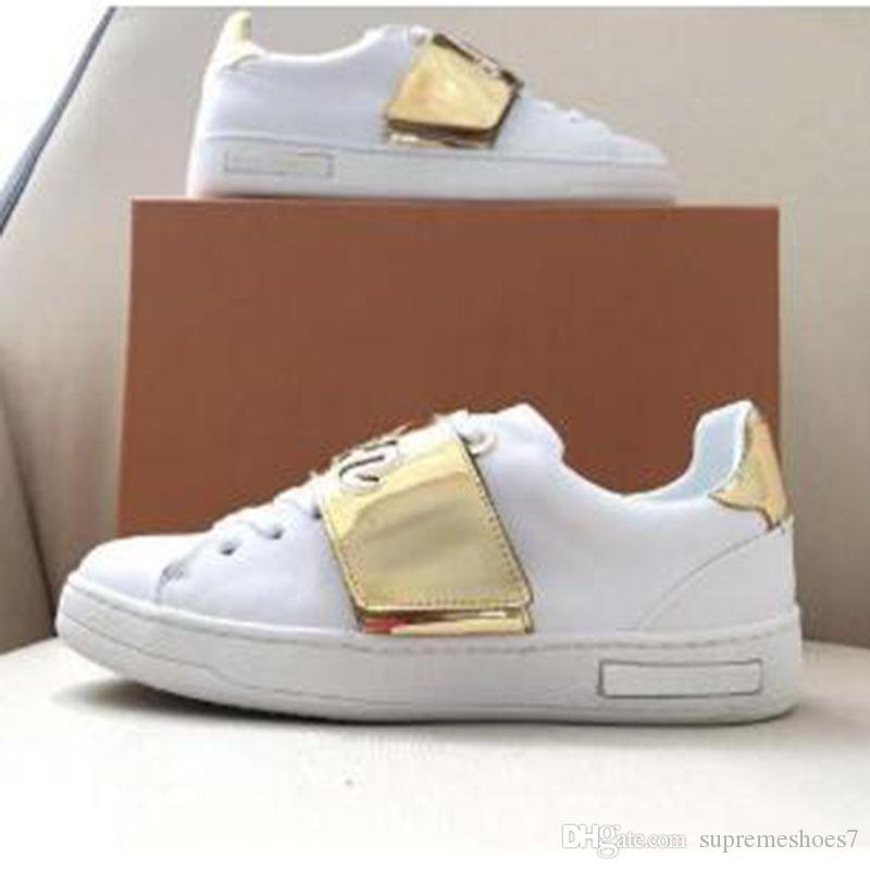2020 célèbres chaussures de haute qualité en cuir véritable Casual Femmes Hommes populaire plate-forme chaussures confortables de RN3 hommes Respirant Femme