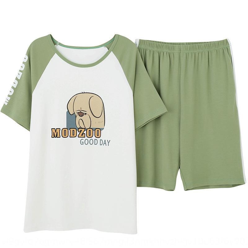 deux été wo short à manches courtes peuvent être portés à domicile des hommes de l'extérieur Shorts vêtements pyjama costume femmes
