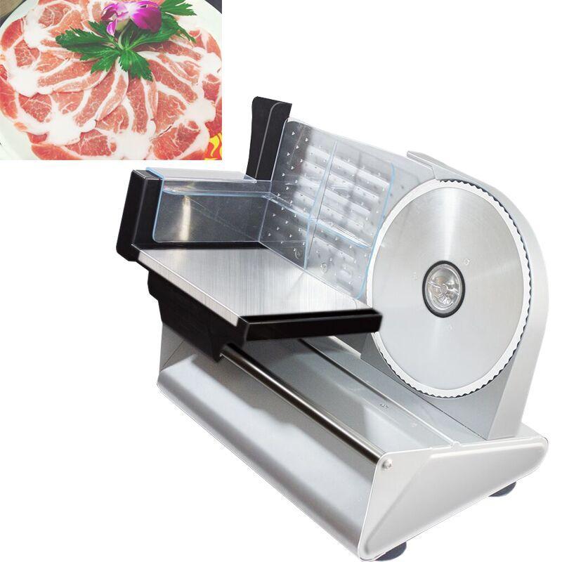 slicer Schneid elektrisches Fleischlamm rolls planes Gefrierfleisch Maschine Schneidewalzen Fleischschneidemaschine Schäl