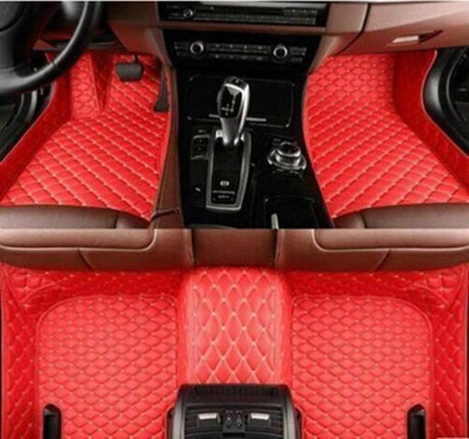 Applicabile a Jeep Compass 2007-2020 lusso personalizzato auto Tappetini All-Weather impermeabile antiscivolo Tappeti atossico e inodore