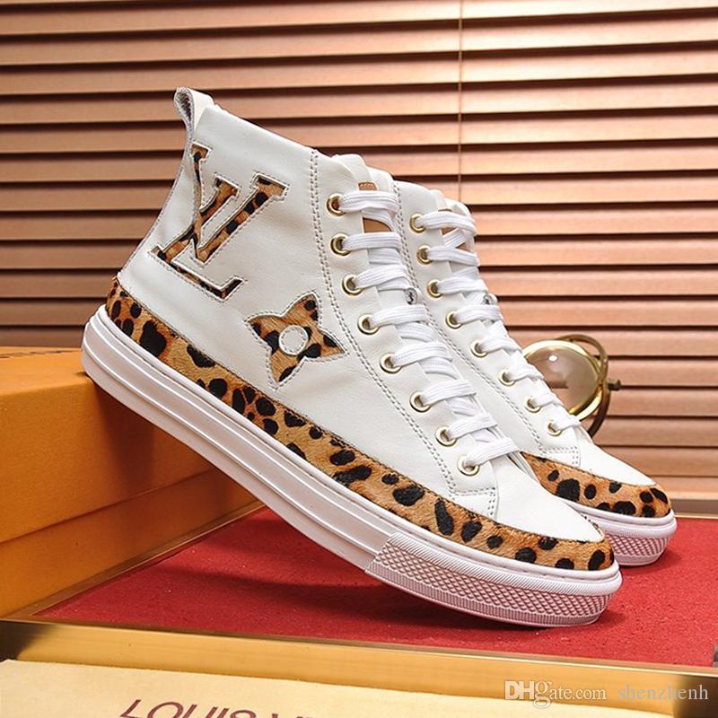 Stellar Sneaker Boot Erkekler '; Ayakkabı Zapatillas Hombre Moda Tasarımı Sonbahar Ve Kış Footwears Nefes Dantel -Up Lüks Erkekler Ayakkabı Sa S