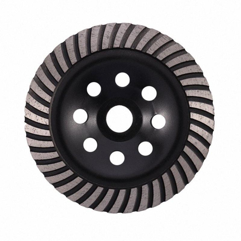 6-дюймовый Алмазная Turbo Row шлифовального Кубок Wheel Подходит для 7/8 дюйма Arbor Алмазный шлифовальный диск для бетона Кладка BLJl #