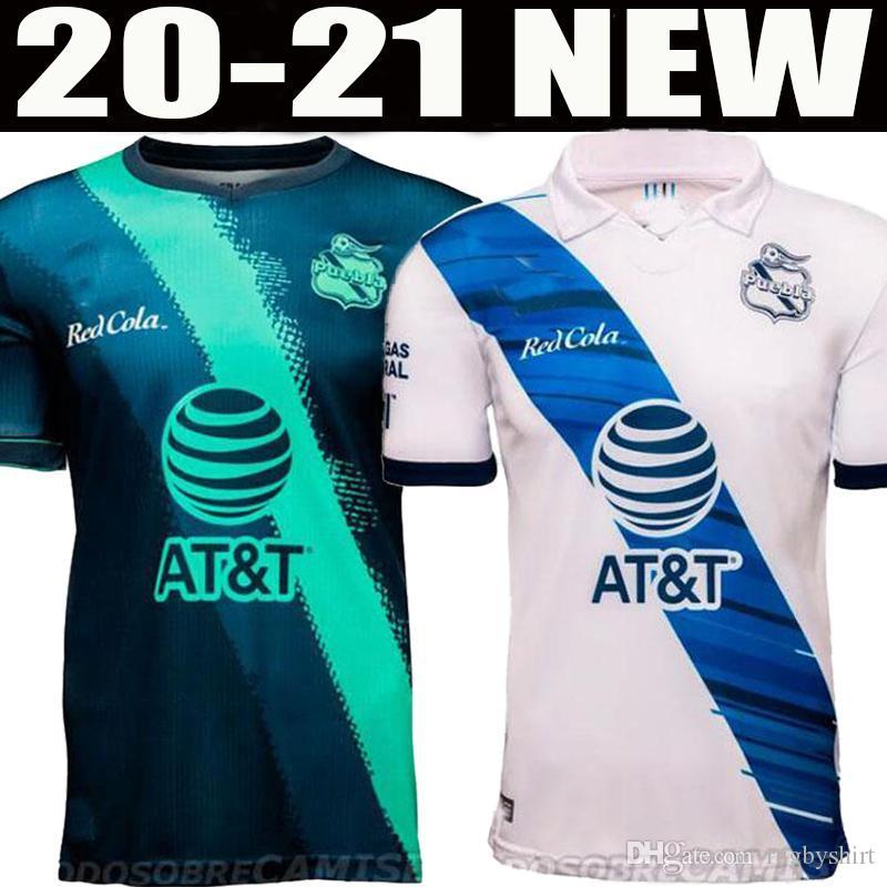 20 21 camisas de futebol Puebla FC 2020 2021 liga mx casa de distância camiseta de Fútbol do futebol camisas