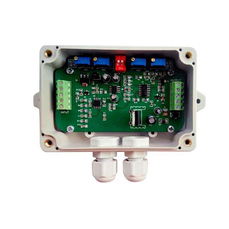 Водонепроницаемая Взвешивание датчик вес Передатчик Напряжение Крутящих Тензодатчики усилитель 0-1 0- датчик давление 4-20 м Out