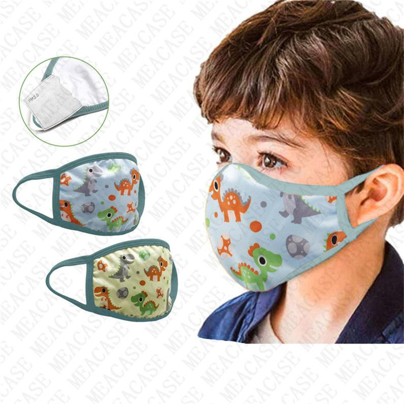 Cubierta anti niños Herred's Haze máscara máscara impresa PM2.5 Máscaras protectoras D72806 PUERTAS FACE GIRL MÁSCHE NIÑOS DUSTRIO BUCHE BOCA FILTRO DE DISTRIBURAJE BBCJ