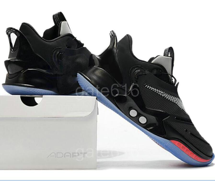 Passen BB 2.0 Abbindebatik Herren Laufschuhe Neue Designer Keine automatische Schnürsenkel Schwarz Oreo Chicago 2K Gamer Exclusive Sneakers Größe 40-46 a8