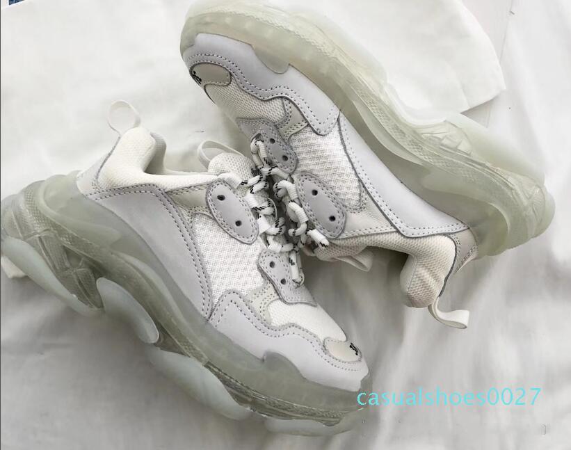 Kristal alt C27 dış taban 3.0 baba ayakkabılar rahat azot S üç-bir-arada 2019 erkek kadın iyi basketbol ayakkabıları spor ayakkabıları kişilik mat