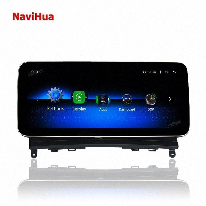 Navihua 10,25 inç Android 10.0 dokunmatik ekran araba radyosu C / CLK 2008-2010 stereo ses multimedya sistemine 9O61 # için navigasyon gps