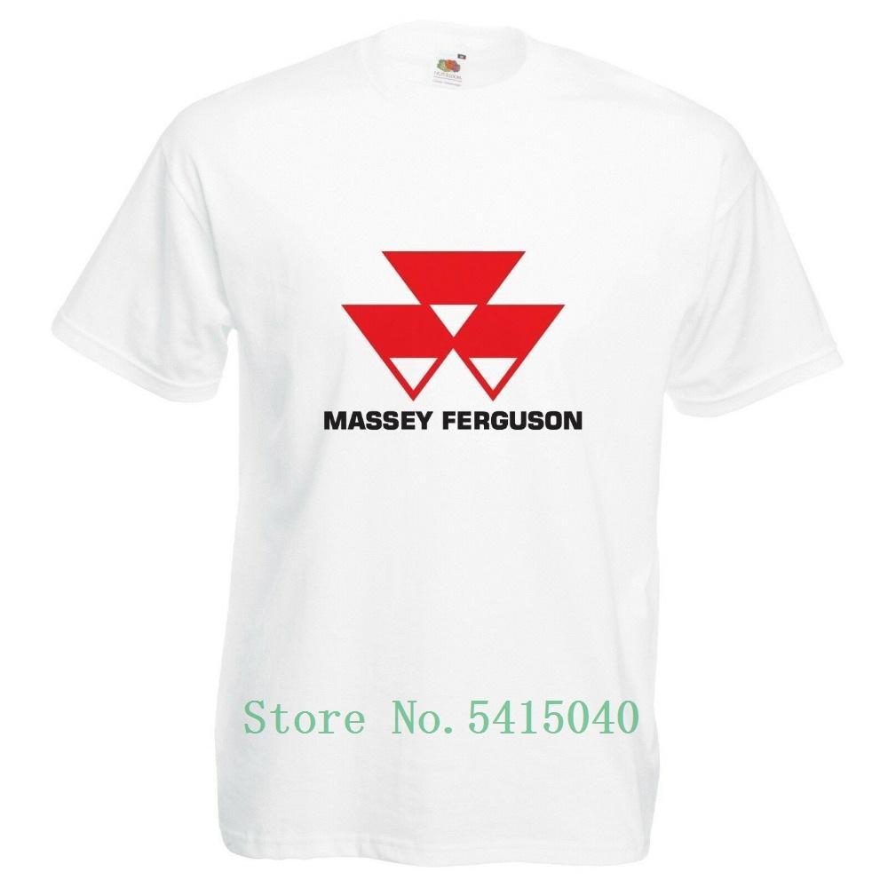 Massey Ferguson T-Shirt Трактор Энтузиаст Farming Etc 2019 Печать Стиль Brand Summer Casual Мужчины Tops На футболках