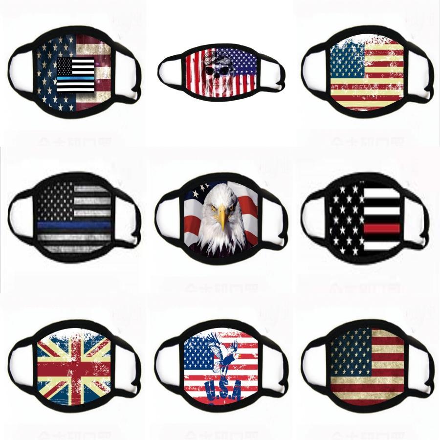 Trump Gesichtsmasken US-amerikanischen Wahlen Supplies Maske Trump 2020 Joe Biden amerikanische Wahl-amerikanische Flagge Mund Gesichtsmasken Maske # 517