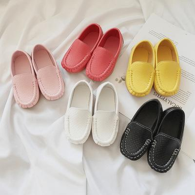 All Sizes Boys Girls Shoes Soft Comfortable Loafers Slip On Kids Shoes Children PU Leather Casual Styles