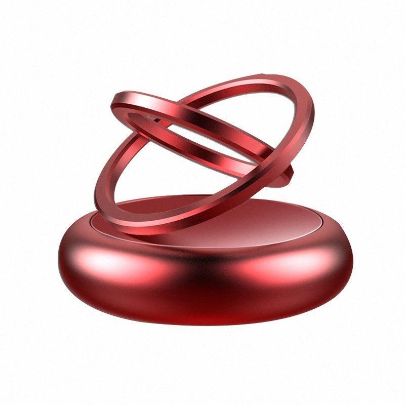 Auto profumo doppia sospensione anello rotante profumo leggero profumo auto pasta solida accessori interni ECUV #