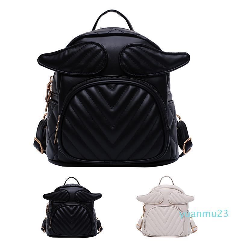 Großhandels-Frauen-Rucksack-Handtasche Art und Weise nette Engels-Flügel Kleiner Rucksack Mini