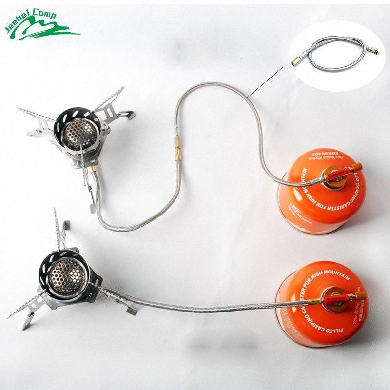 Jeebel 44cm Estendere tubo del gas Stufa adattatore bruciatore esterna Escursionismo e campeggio escursione del campeggio Propano Cilindri Serbatoio Cc0h #
