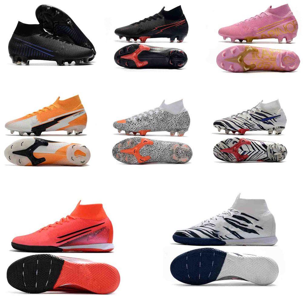 South Korea Mercurial Original Soccer Cleats Mercurial Superfly chaussures de foot Soccer Shoes Cristiano Ronaldo Football Boots
