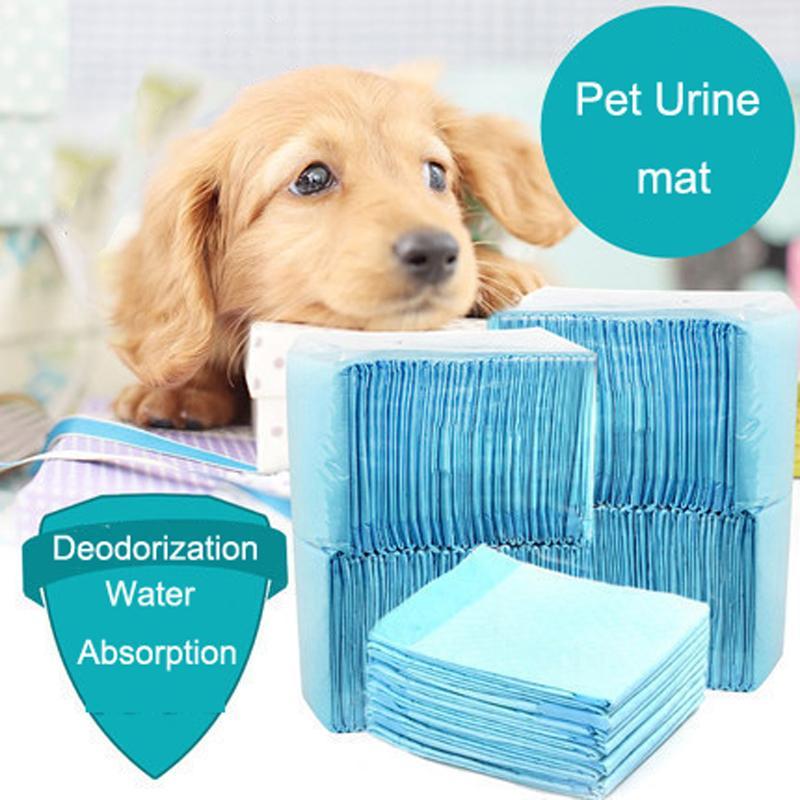 Pet Köpek Kedi Bezi Süper Emici Ev Eğitim Pedleri Puppies Polimer Için Daha Hızlı Kuru Pet Pedleri Sağlıklı Pet Paspaslar Toptan DH0315