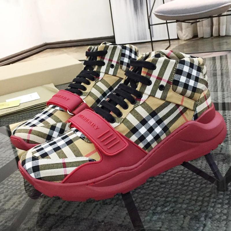 2020 nuovi Mens scarpe sportive casual scarpe traspiranti Leggero sport per gli uomini all'aperto Calzado Deportivo Para Hombre Appartamenti camoscio e neoprene