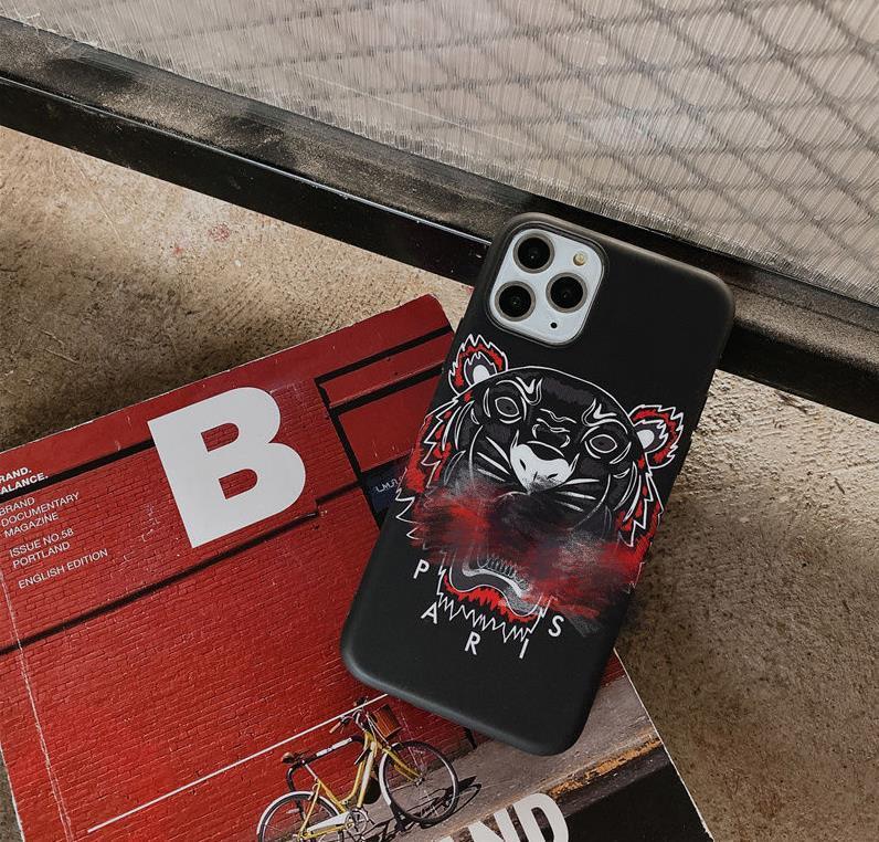 Designer Phone Case luxe iPhone Cover Marque téléphone cellulaire cas pour 6 6S Plus 7 8 7P 8P X XS MAX XR 11 Pro l 20062802CE