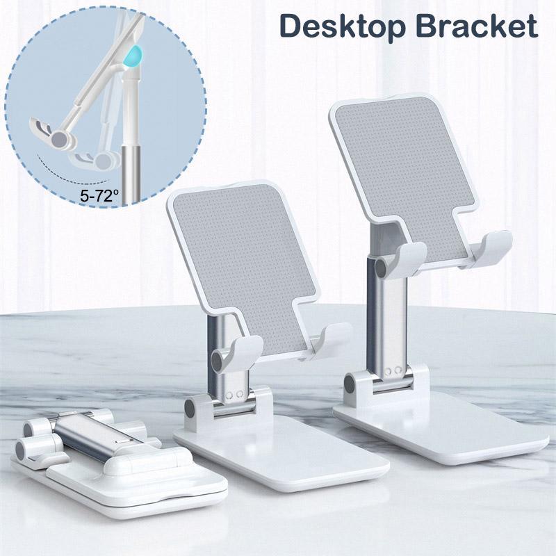 T1 porta cellulare Desktop staffa metallica telescopica estendere il sostegno Desk Tablet supporto ad altezza regolabile girevole angolo per iPad Cellulari