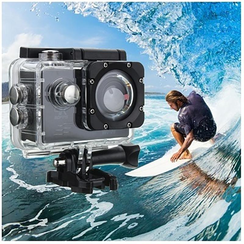 1080P im Freiensport-Action-Mini-Kamera wasserdichte Cam Screen Color Wasserdicht Videoüberwachung Unterwasserkamera