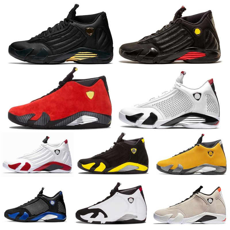 Top Quality 14s DB Canday Cane Mens Basketball Shoes Black Cat Sports Sneakers Mens Trainers size 40-46