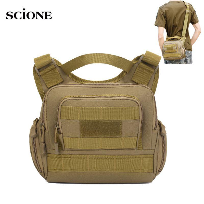 Molle Army Sac Tactical Sac à main Chasse Camping Sling Sac à dos Randonnée Sacs de camouflage XA810WA Sports Hommes en plein air RBCDC