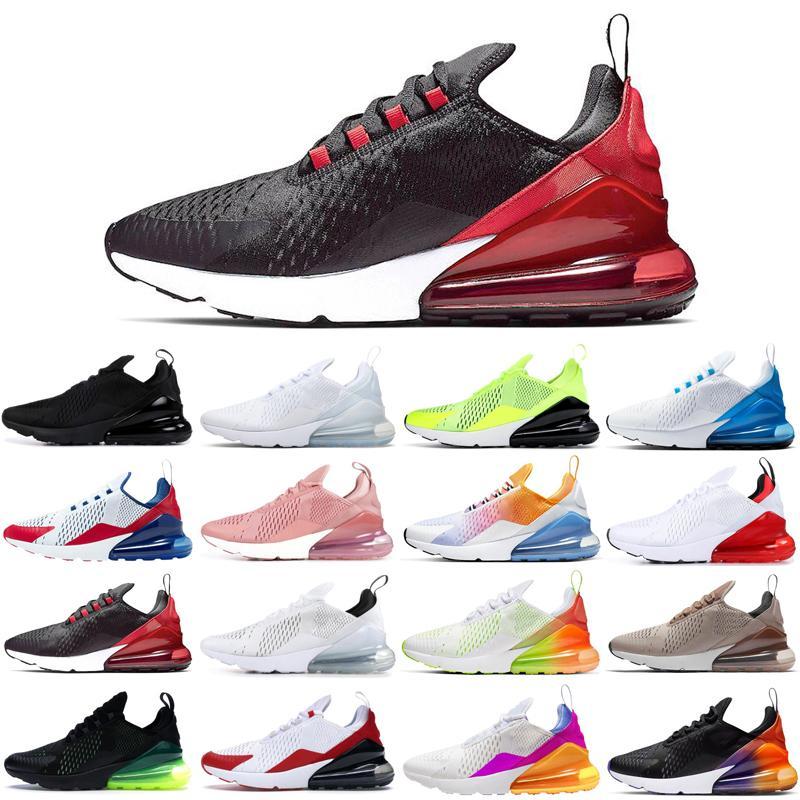 nike air max airmax 270 Üçlü siyah beyaz pembe ABD paskalya kaktüs voltluk açık mens koşu ayakkabıları 2020 erkek kadın eğitmenler spor ayakkabısı rayları womens