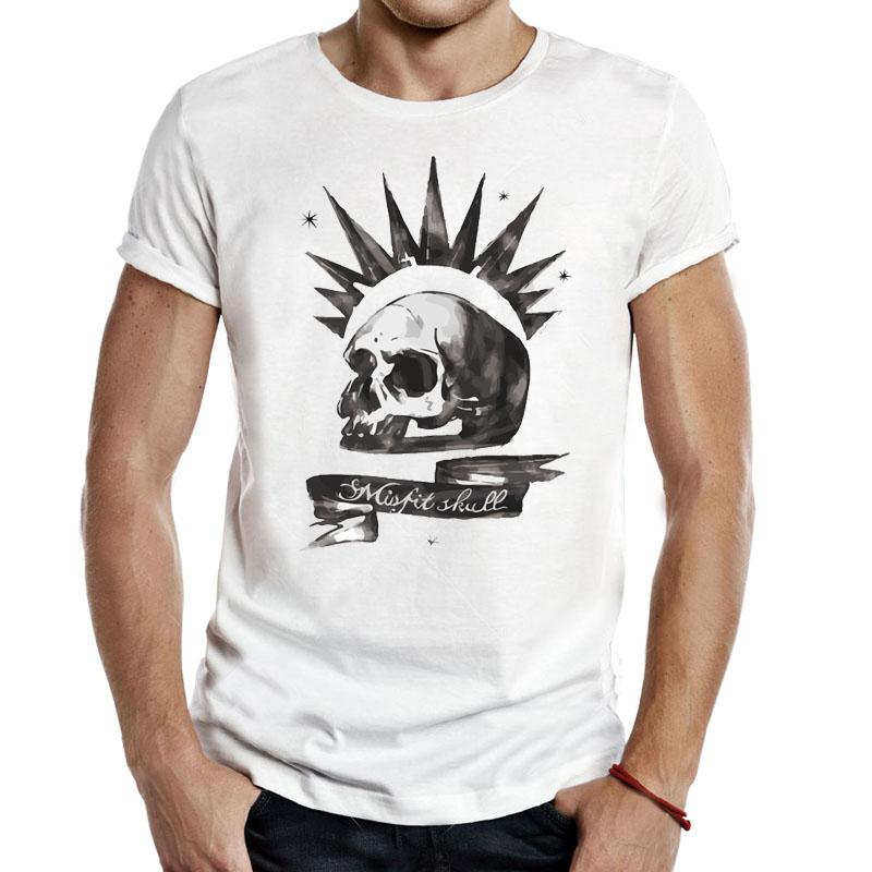 Life is Strange Misfit Skulls Men Tees Gaming T Shirts video game price max caulfield butterfly T-Shirts classic Casual Apparel