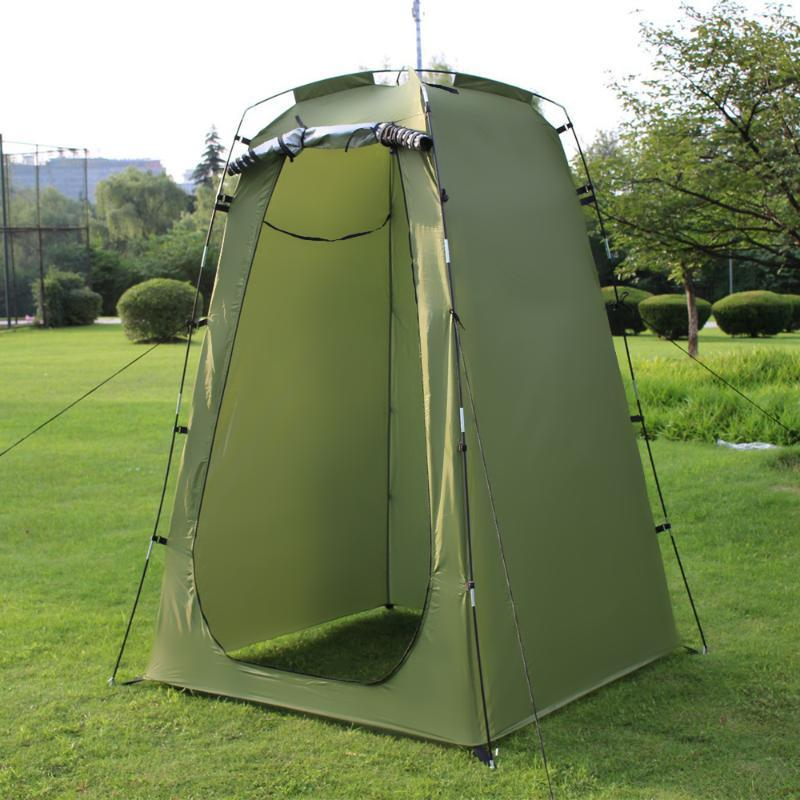 Camping Tent For Shower 6FT Privacy Changing Room For Camping Biking Toilet Shower Beach Bath Changing Fitting Room Toilet tent