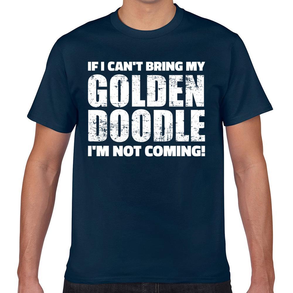 Tops T shirt da Uomo Vogue goldendoodle Vintage Geek Stampa maschio maglietta XXX