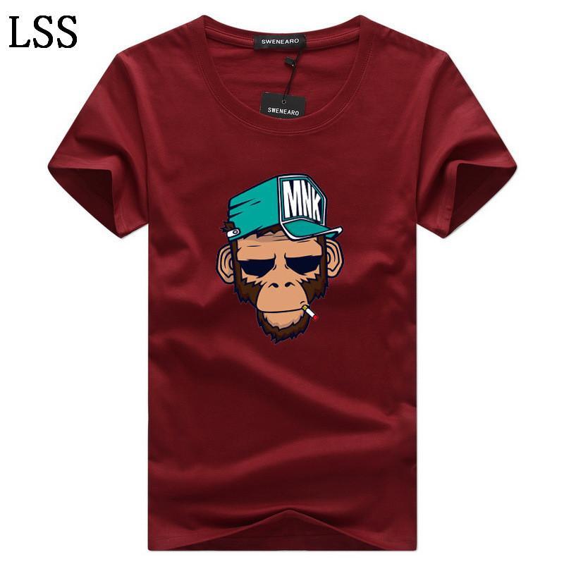Men's T-Shirts Plus Size S-5XL Tee Shirt Homme Summer Short Sleeve Men T Shirts Male TShirts Camiseta Tshirt C-8