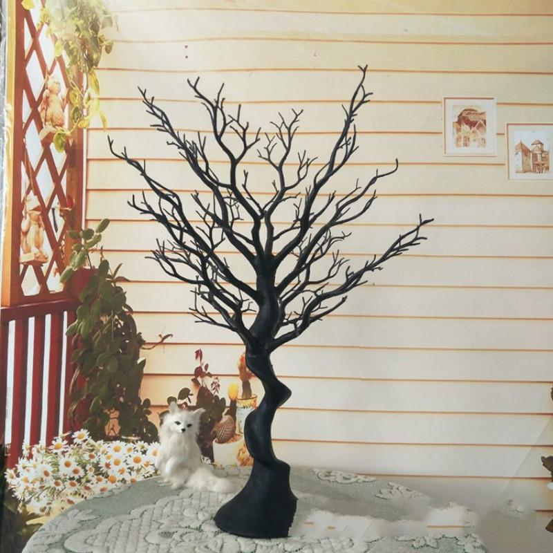 75cm Plastic Plants Tree Branch Christmas Tree Crystal Tree Dining Table Props Home Decoration Accessories Wedding Decor Backdrop Fake Plant