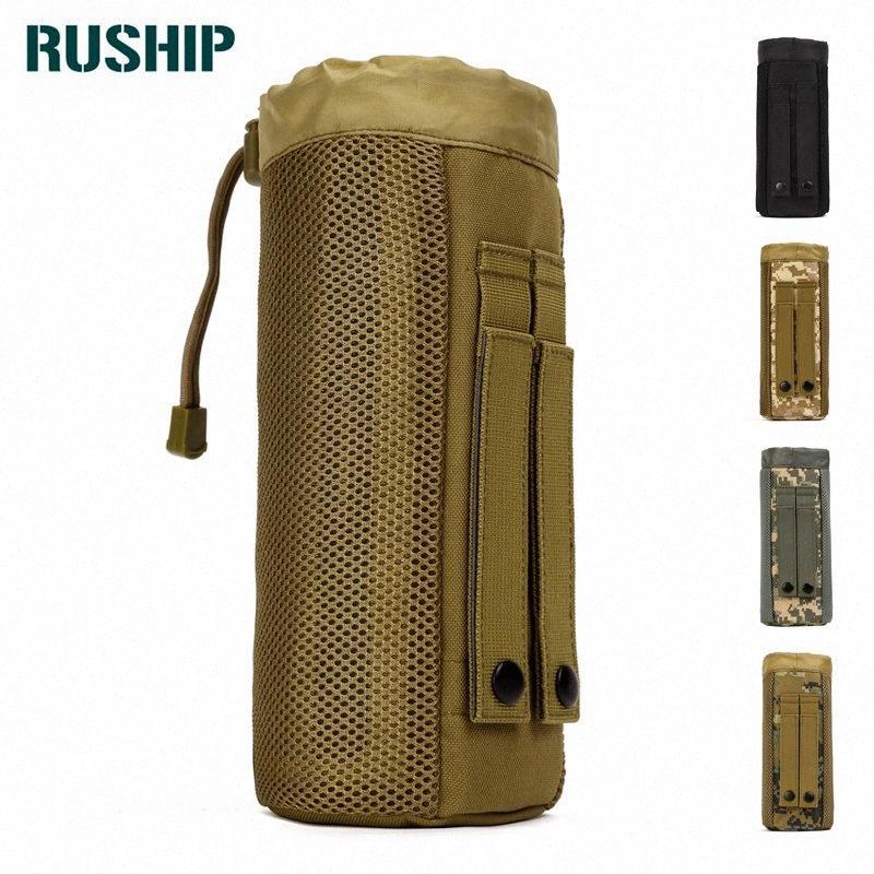 Оборудование MOLLE бутылки воды Карманный мешок Fanny Pack 800мл сумка Пояс с кулиской Кошелек Камуфляж Сумки на пояс Путешествия пакеты UCuu #