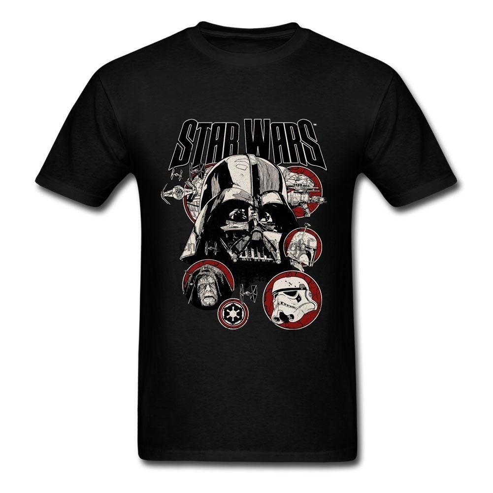 Pop maglietta maglietta degli uomini amanti del O-collo del cotone più il bicchierino manicotto Villains divertente T-shirt