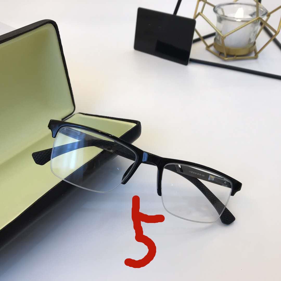 BO88168 Optical glasses men Brand round circle rimless Sunglasses Women Design high-end transparent lenses eyeglasses rectangular goggle