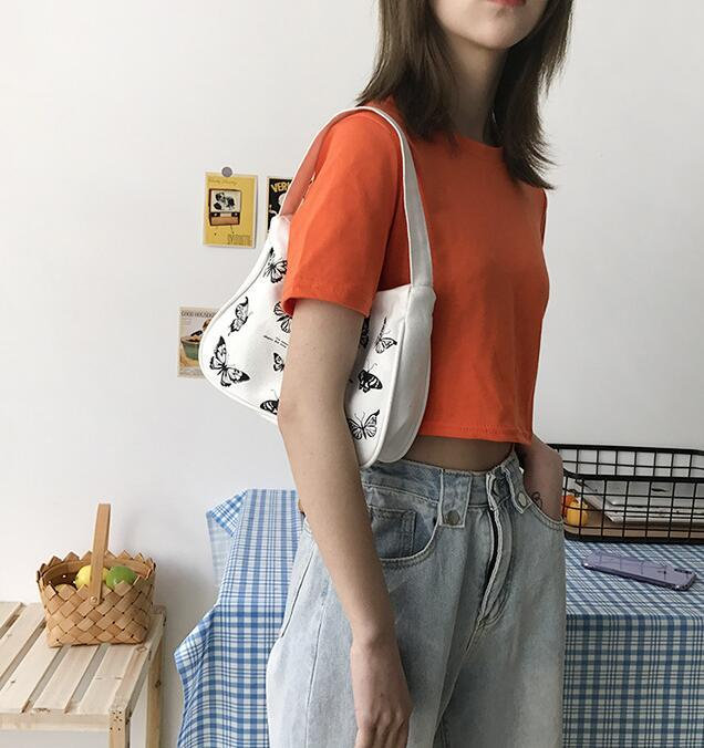 Ins Moda Kadınlar Çanta Büyük Kapasiteli Lady Koltukaltı Çanta Kişilik Omuz Nakliye Çantası
