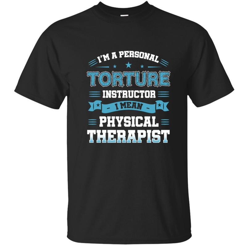 Eu sou t-shirt Instrutor A Tortura pessoais Mens Men T Shirt T-shirt For Men Imprimir Vestuário Masculino Big Tamanhos Hip Hop de Fitness
